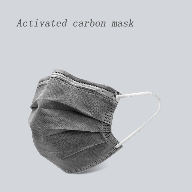 10/20/50/100PCS Disposable Mouth Mask Breathable Filter Face Mask 3 layer  Non-woven Meltblown Masks 5