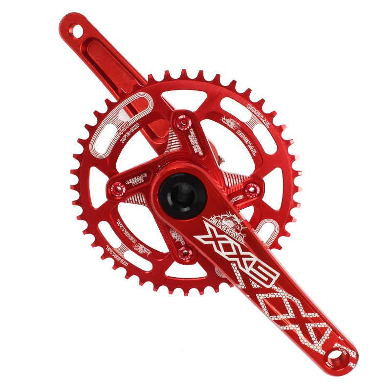 Snail 대형 스프로킷 원형 원형 체인 링 MTB 산악 자전거 자전거 104BCD 44T 46T 48T 50T 52T 크랭크 셋 치아 플레이트 부품