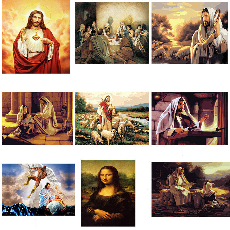Mercy Of Jesus Posters And Prints Canvas Painting Wall Art Picture Vintage Poster Decorative Home Decor Cuadro Decorativo