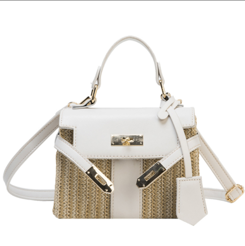 Female Women Bag  Simple Style Fashion Bag Cover Cross Body PU Leather Women Vintage Messenger Shoulder Bag  Sweet  Stf6