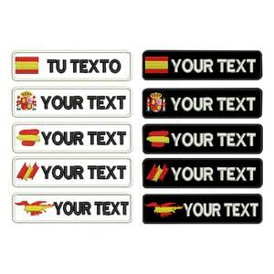 Image 1 - カスタムスペインgalician名パッチタグパーソナライズ鉄にバッキング刺繍