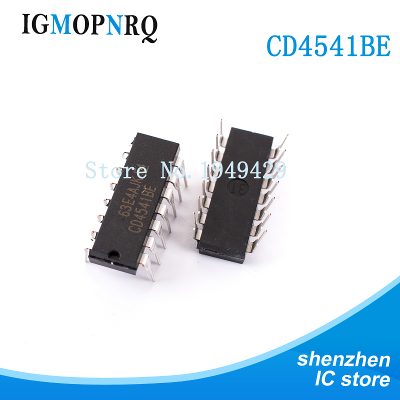 10PCS <font><b>CD4541BE</b></font> DIP14 CD4541 Timer and support products Programmable New original free shipping image