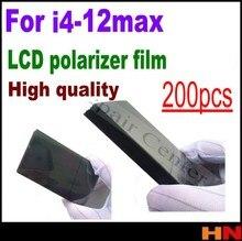 200 pçs filme polarizador lcd por atacado para iphone 12 mini pro max 11 x xs 4 4S 5 6s 7 8 mais filtro lcd polarizando polaroider