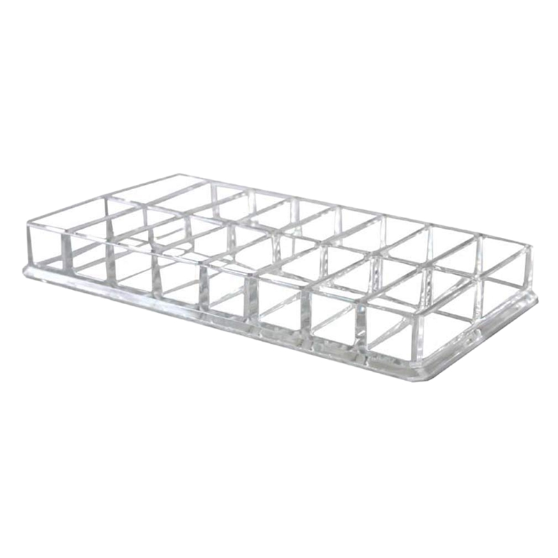 Eyeshadow Organizer Box  Acrylic Cosmetic Makeup Organizer Beauty Care Holder For Compact Eyeshadow  16 Spaces Storage Case 01|Makeup Organizers| |  - title=