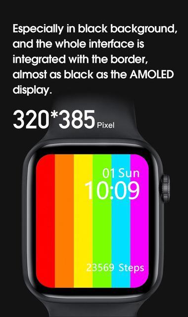 2020 Original Abigail IWO W26 Bluetooth Call Smart Watch Men Women IP68 Waterproof 44mm Smartwatch For Apple Android PK 12 Pro 6 3