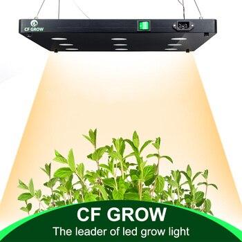 דק COB LED צמח לגדול אור ספקטרום מלא BlackSun S4 S6 S9 LED פנל מנורת עבור מקורה הידרופוני צמחים כל צמיחת שלב