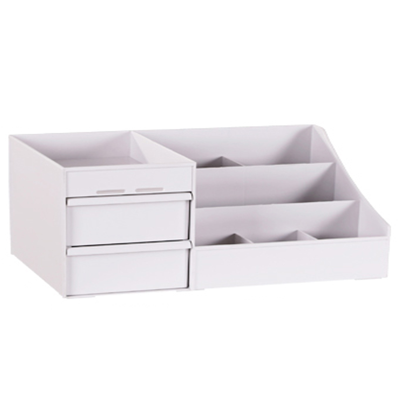 Large Capacity Cosmetic Storage Box Makeup Drawer Organizer Jewelry Nail Polish Makeup Container Desktop Sundries Storage Box 1