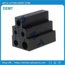 Torna aracı kol, Tungsten sismik delik tutucu, küçük çaplı tutucu, kesme aparatı 16*16mm,20*20mm. 4mm/5mm/6mm/7mm/8mm