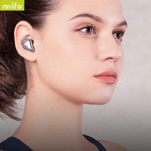 Image 5 - MIFO O5 In Ear słuchawki HIFI oryginalne słuchawki bezprzewodowe Bluetooth 5.0 zestaw słuchawkowy obustronne Mini wodoodporne słuchawki douszne O2 X1 X1E I7 I8 E12 TW100