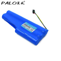 Palo 12V 3500mAh NI-MH şarj edilebilir pil paketi SC Ecovacs Deebot için D520 D526 süpürgesi Robot T3 T5 elektrikli süpürge pil