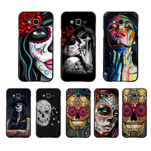 NBDRUICAI Hot Catrinas and skull Fashion Newly Arrived Cell Phone Case For Samsung Galaxy J7 J8 J3 J4 J5 J6 Plus 2018 Prime(China)