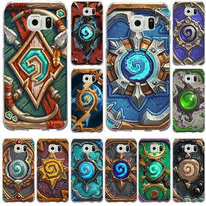 Hearthstone Heroes of Warcrafts Logo Mobile Phone Case for Samsung Galaxy Note 2 3 4 5 8 S2 S3 S4 S5 Mini S6 S7 S8 S9 Edge Plus(China)