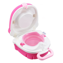 Training Seat Pot Soft Baby Potty Infant Potty Training Plastic Road Pot Baby Toilet Safe Kids Potty Trainer Seat Chair Toilet