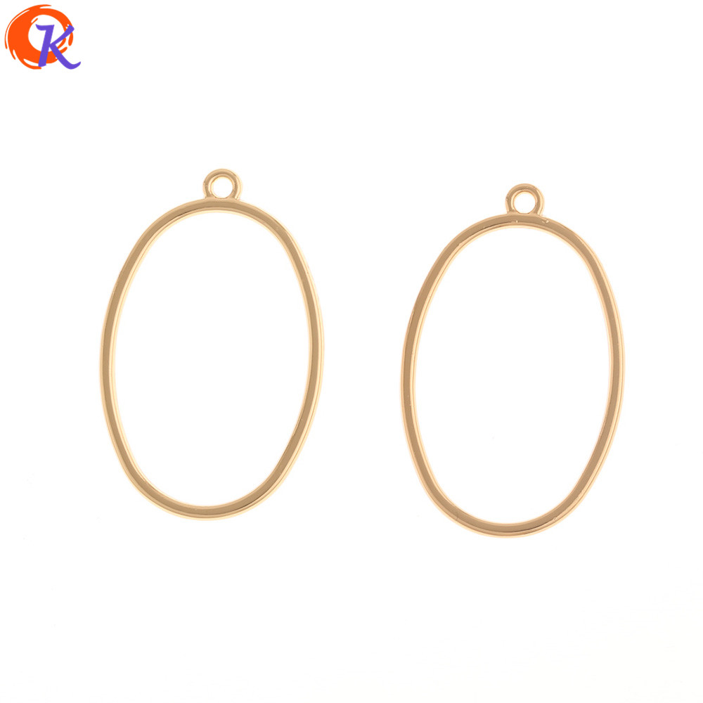 Cordial Design 100Pcs 22*35MM Earrings Parts/Jewelry Accessories/Oval Loop Shape/DIY Jewelry Making/Hand Made/Earring Findings