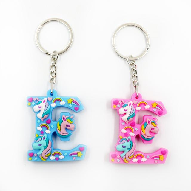 Metal Multicoloured Keychain Set 2 Pcs
