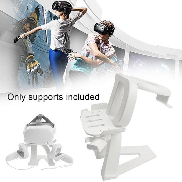 Universal VR Stand For Oculus Quest 2 VR Headset Display For Oculus Controller Rift Storage Quest Go 1/2 S Stand Holder Gam R1A7 1
