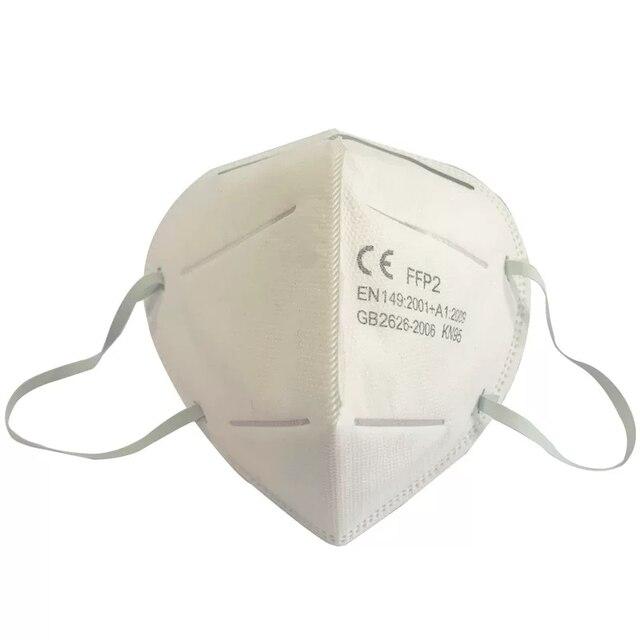 10 PCS FFP2 N95 Masks 4-Layer CE Verified Antivirus Reusable Face Mouth Mask Virus Flu Precaution Respirator Global Shipping 3
