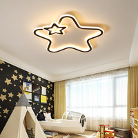 Ererrec quarto do miúdo moderno conduziu luzes de teto para sala estar quarto casa luminárias lampara de techo lâmpada do teto