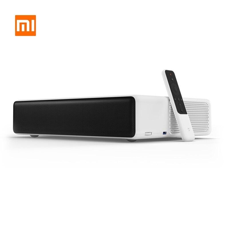 Xiaomi Mijia projecteur Laser TV 5000 Lumens 150 pouces multilingue 1080 Full HD ALDP 4K vidéo Dolby DTS Version mondiale projecteur