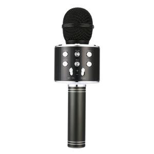 Image 1 - New Portable Wireless Microphone Bluetooth Karaoke Home Mic Stereo Speaker Player USB Studio KTV Music Online