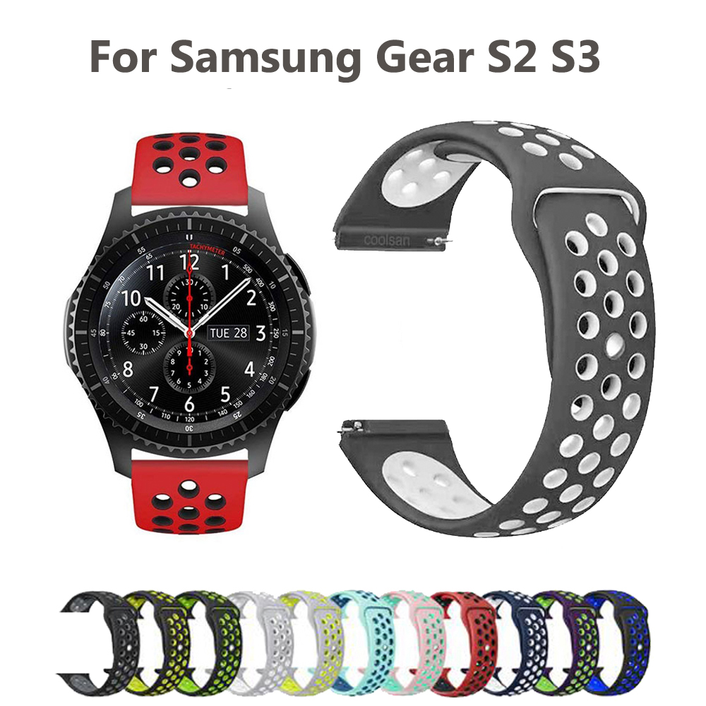 Watchband Strap for Samsung Galaxy Gear S2 S3 Sport Smart Watch Band for Galaxy Watch 46mm 42mm Xiaomi Huami Amazfit Wrist Band