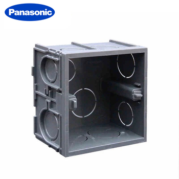 Panasonic Adjustable Wall Inner Mounting Switch Box 86 Socket Box Fireproof High Quality Material Wall Switch Dark Box 5pcs/lot