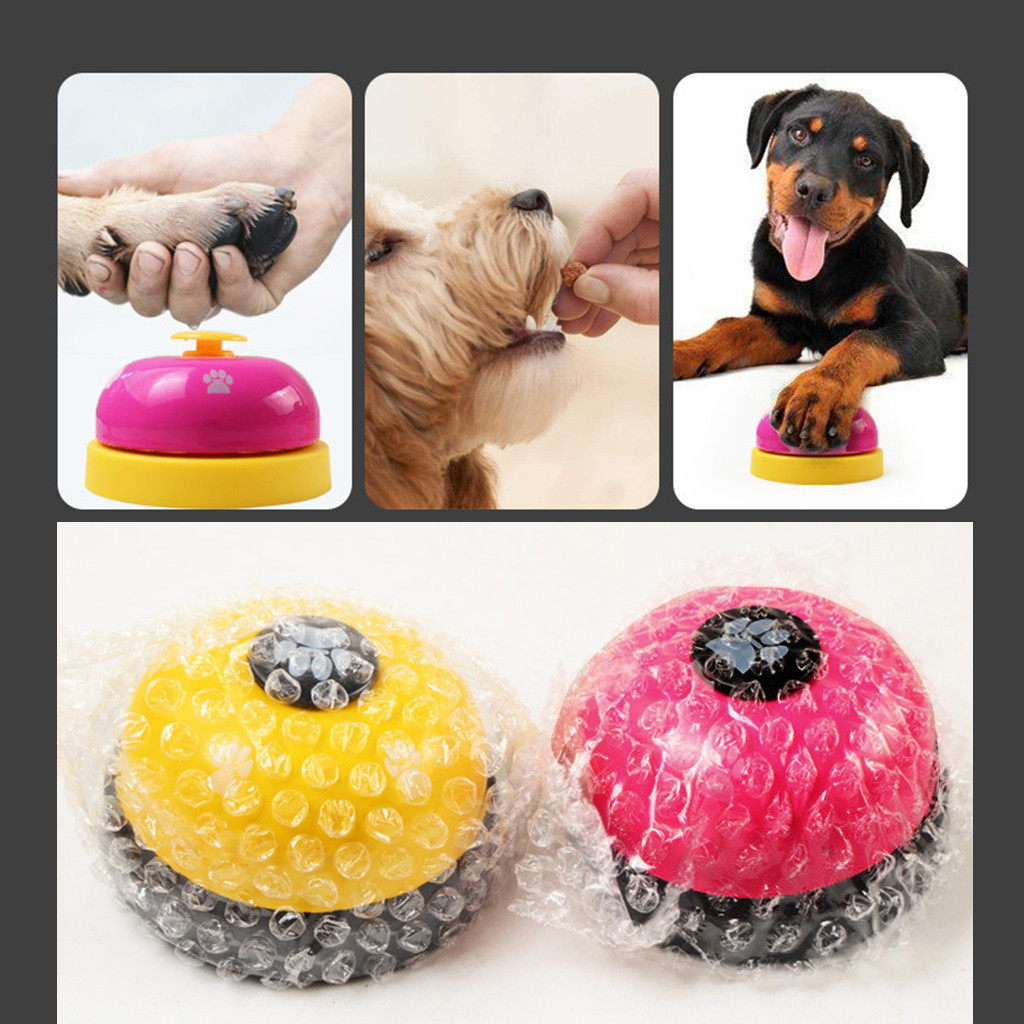 Pet Training Bells Dog Bells for Potty Training and Communication Device Multicolor Unique Design For Dogs Training healthy2020-0