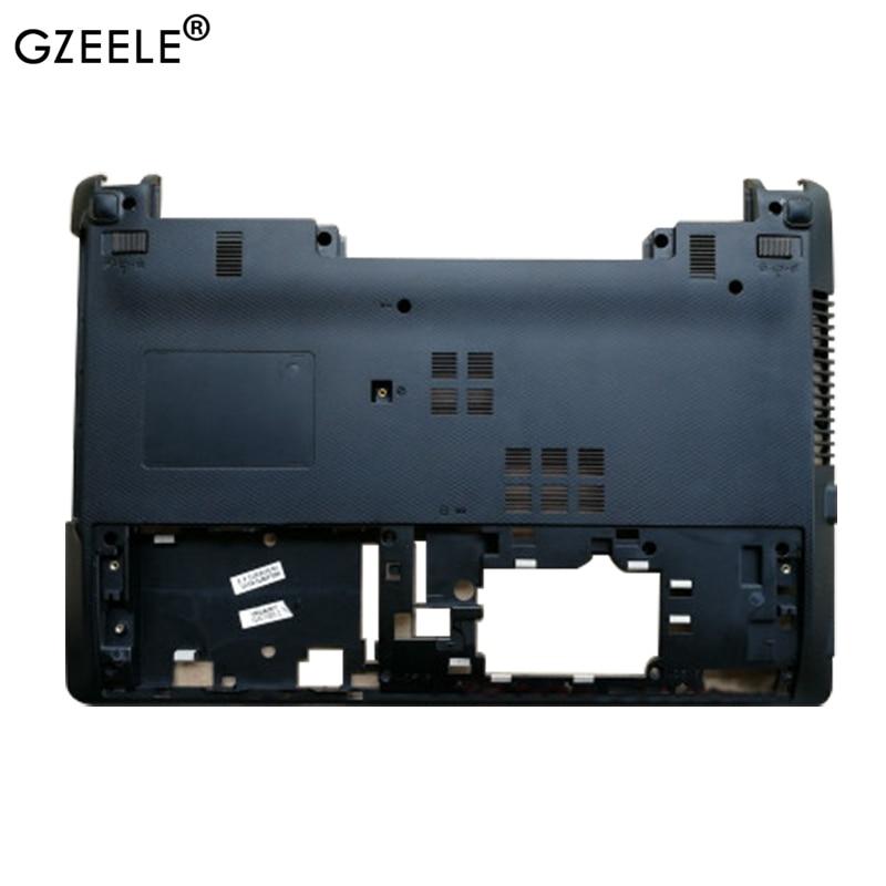 GZEELE New FOR Asus K45 K45v A45V A85V R400V K45VD K45VM Laptop Base Bottom Cover Lower Case AP0ND000600 Black Shell