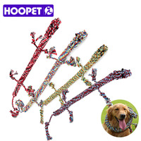 HOOPET Pet Toys Dogs Cotton Rope Widget Puppy Chew Supplies Doggie Anti boredom Products Resistance To Bite 1.2M Funny Tool
