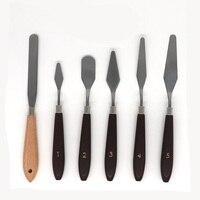 Ferramentas da remoção da cópia 3d com punho de madeira resistente natural  jogo de ferramentas para a faca da paleta da espátula da impressora 3d  pacote 6|Conjuntos ferramenta manual| |  -