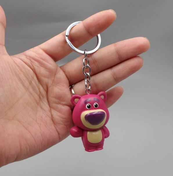 Action Figure Toy Story 4 Jessie Buzz Lightyear Woody Hamm Alien ตุ๊กตาของเล่นพวงกุญแจของเล่นสำหรับของขวัญเด็กของเล่น