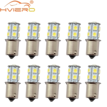 цена на 10Pcs 1157 BAY15D P21/5W 13Led 5050 Car Led Turning Parking Signal Lights Brake Tail Lamps 13SMD Auto Rear Reverse Bulbs DC 12V