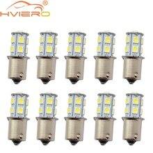 10 Uds 1157 BAY15D P21/5W 13Led 5050 coche Led girando estacionamiento luces de señal de luces traseras de freno 13SMD bombillas de marcha atrás traseras de coche DC 12V