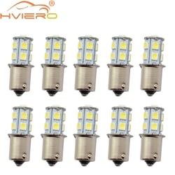10Pcs 1157 BAY15D P21/5W 13Led 5050 Car Led Turning Parking Signal Lights Brake Tail Lamps 13SMD Auto Rear Reverse Bulbs DC 12V