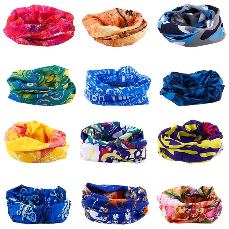 Outdoor Seamless Flexible Magic Headscarf Men And Women Cycling Headscarf Mask Bandana Windproof Sun-resistant Scarf Summer