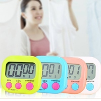 Household Kitchen Multi function Large screen Portable Digital Timer Kitchen Electronic Timer