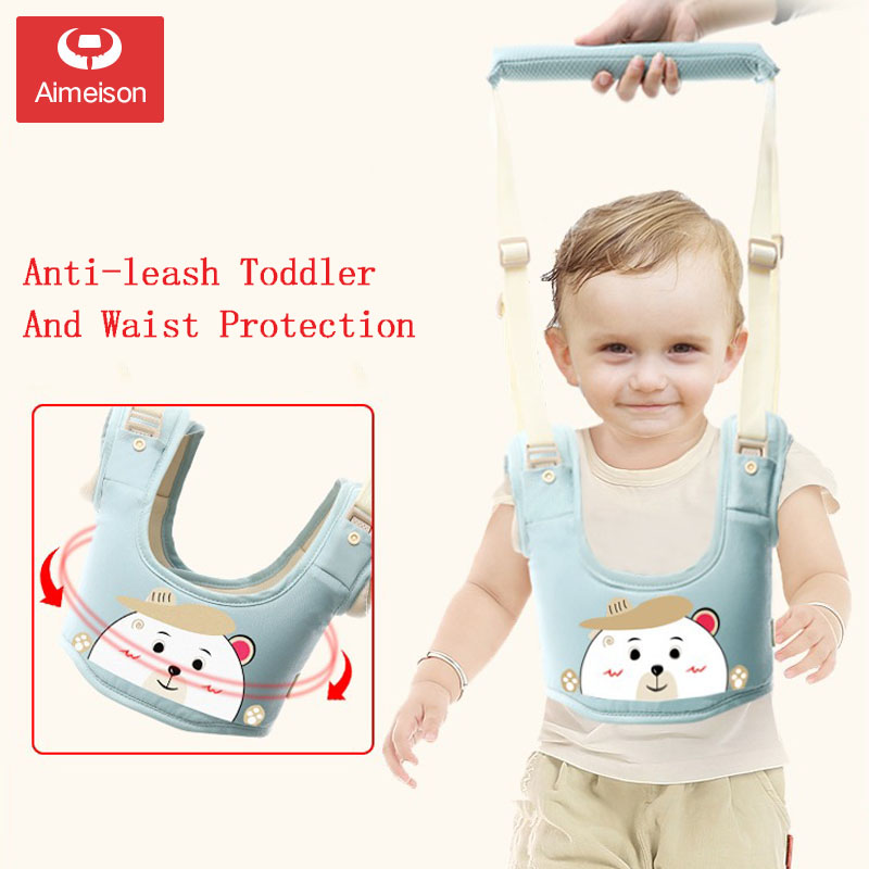 New Arrival Baby Walker,Protable Baby Harness Assistant Toddler Leash For Kids Learning Training Walking Baby Belt  AXBD001