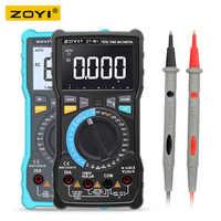 ZOYI ZT-M1 ZT-M0 Dual modus true RMS digital-multimeter AC und DC spannung strom temperatur frequenz besser als ZT-X RM409B