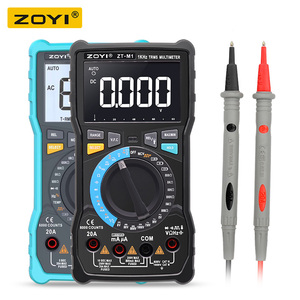 Image 1 - ZOYI ZT M1 ZT M0 Dual mode true RMS digital multimeter AC and DC voltage current temperature frequency better than ZT X RM409B