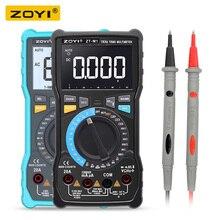 ZOYI ZT M1 ZT M0 وضع مزدوج صحيح RMS الرقمية المتعدد التيار المتناوب والجهد تيار مستمر تردد درجة الحرارة الحالية أفضل من ZT X RM409B