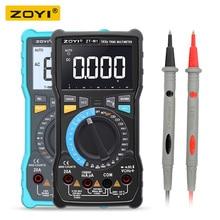 ZOYI ZT M1 ZT M0 כפולה מצב true RMS דיגיטלי מודד AC ו DC מתח הנוכחי טמפרטורת תדר טוב יותר מ ZT X RM409B