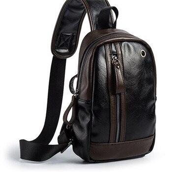 Bolsa de mensajero para hombres-bandolera bolso de viaje bolso de hombre bolso Casual de la Escuela de la Universidad mochila para el trabajo de negocios