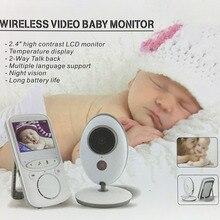 VB605 2.4 Cal wyświetlacz temperatury niania dziecko kamera domofon noc monitorowanie temperatury Cam opiekunka niania dziecko
