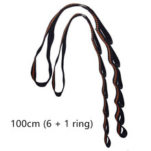 Yoga Stretch Belt Extender Strap Rope Chrysanthemum Rope Fitness Exciser for Aerial Yoga Hammock Swing Anti-Gravity Extend Strap