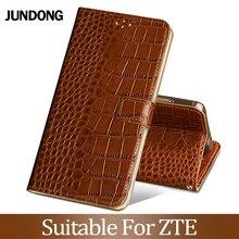 For ZTE Blade A210 A452 A512 A520 A530 A610 V7 lite V8 mini V9 V10 Vita Case Cowhide Luxury Card slot wallet phone flip co