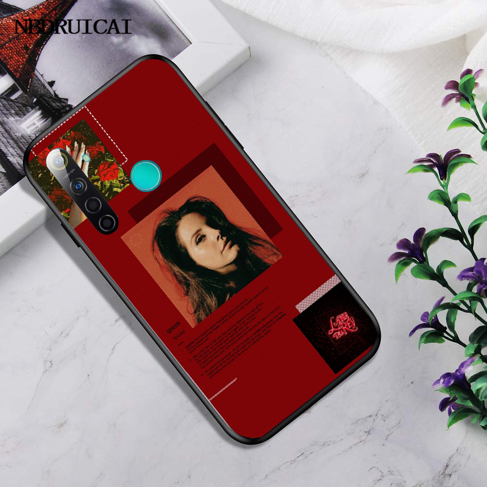NBDRUICAI Эстетическая Лана Дель Рей красивая девушка новое поступление чехол для мобильного телефона для OPPO Realme 5 3 2 Pro F7 F9 F11 F3 Рино крышка