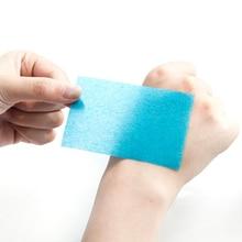 Портативный лица абсорбент Бумага масло Управление салфетки лист для впитывания жирной уход за кожей лица Очищение матирующий ткани 50 шт./компл