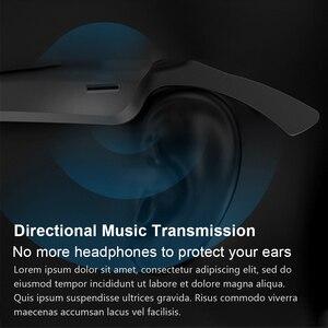 Image 4 - A3 2 ב 1 משקפי חכמים אלחוטי Bluetooth אוזניות BT5.0 מוסיקה משקפיים חיצוני רכיבה על אופניים משקפי שמש ספורט אוזניות עם מיקרופון
