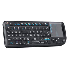 2.4G Wireless Touch Keyboard Fly Air Mouse Handheld With Touchpad QWERTY Keyboard for Laptops Smart Android TV Remote Control