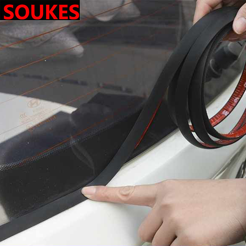 2M Car Seal Strip For Mercedes W203 W211 W204 W210 Benz <font><b>BMW</b></font> <font><b>F10</b></font> E34 E30 Rear Window Waterproof Noise Insluation Weatherstrip image